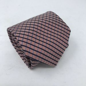 Brooks Brothers Tie Pink Check 100% Silk 58in